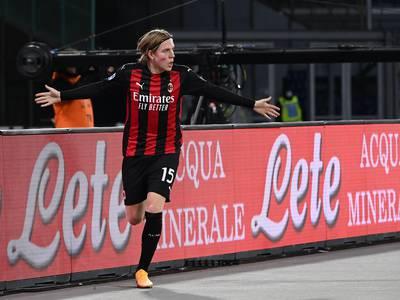 Feiret Glimts seriegull ved å score for Milan
