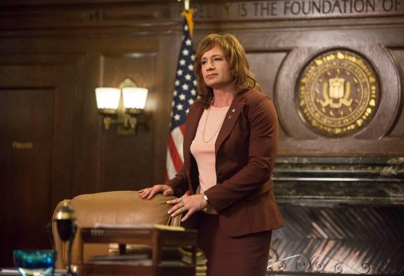 David Duchovny, kjent fra en annen innflytelsesrik 90-tallsserie «X Files», er med igjen som transvestitt i «Twin Peaks: The Return».