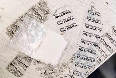 Norgeshistoriens største amfetaminbeslag gjort i Moss
