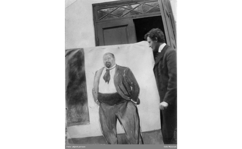 Edvard Munch maler Christian Sandberg