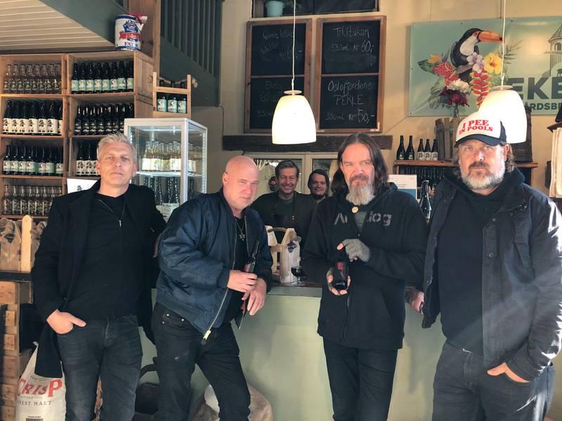 Kjetil Manheim, Eirik Norheim, Finn-Erik Blakstad, Even Gudvig Olsen, Anders Odden og Stig Amundsen.