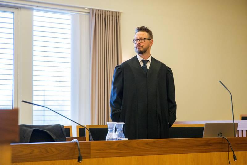 Politiadvokat Anders Svarholt i Moss tingrett.