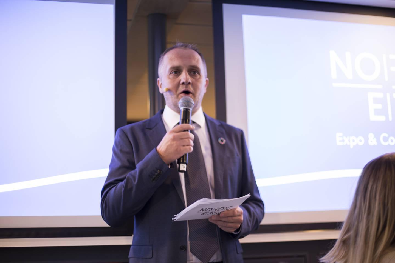 Stig Finnesand, CEO i Nordic Edge Expo