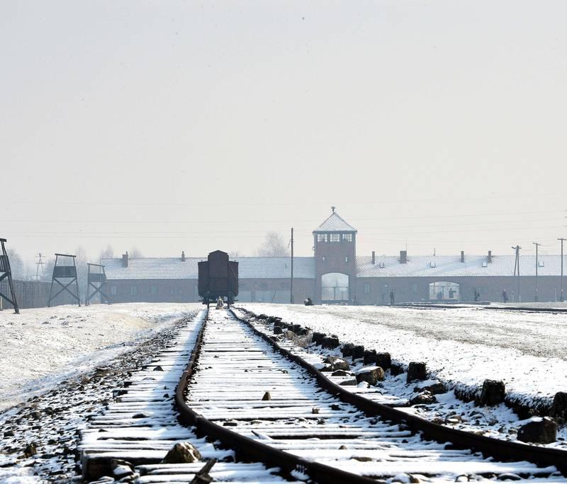 AUSCHWITZ: På Wannsee-konferansen ble hele det tyske apparatet satt i arbeid for å løse «det jødiske problemet» en gang for alle. FOTO: AFP/NTB SCANPIX