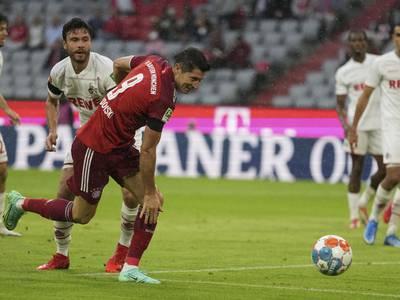 Lewandowski nær ny målrekord – Gnabry sørget for Bayern-seier etter Kölns opphenting