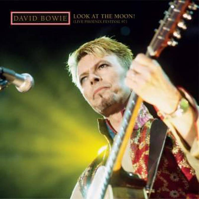 """David Bowie, live-albumet """"Look At The Moon"""", 2021"""