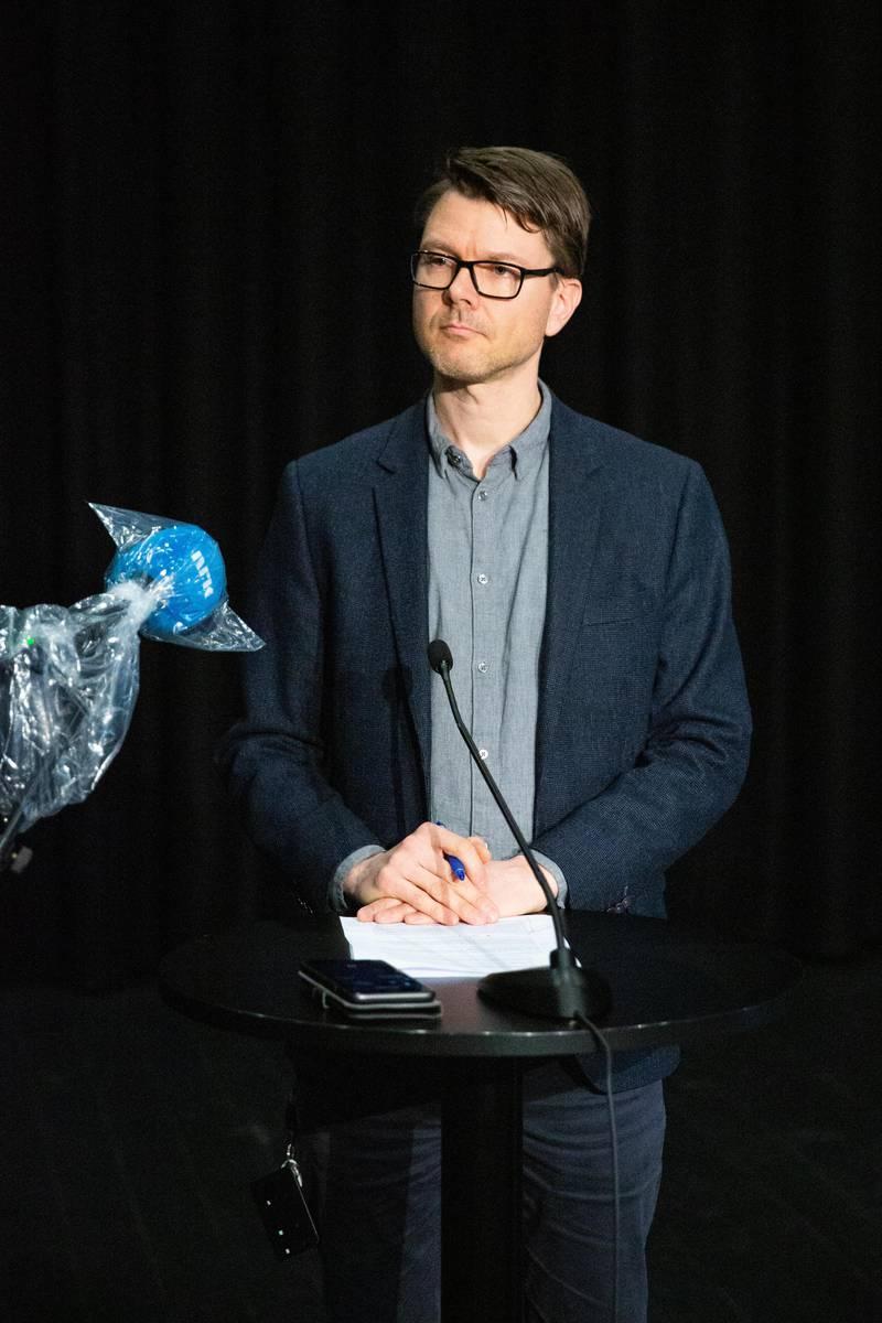 Kommuneoverlege Kristian Krogshus.