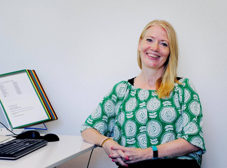 styrer: Styrer i Heftyes barnehage, Gro Jeanette Spidsberg ser viktigheten av et variert kosthold for barna.