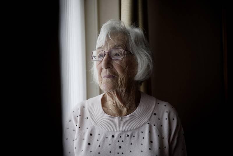 Solveig Levin kom seg unna og til Sverige. I dag er hun blitt 102 år.