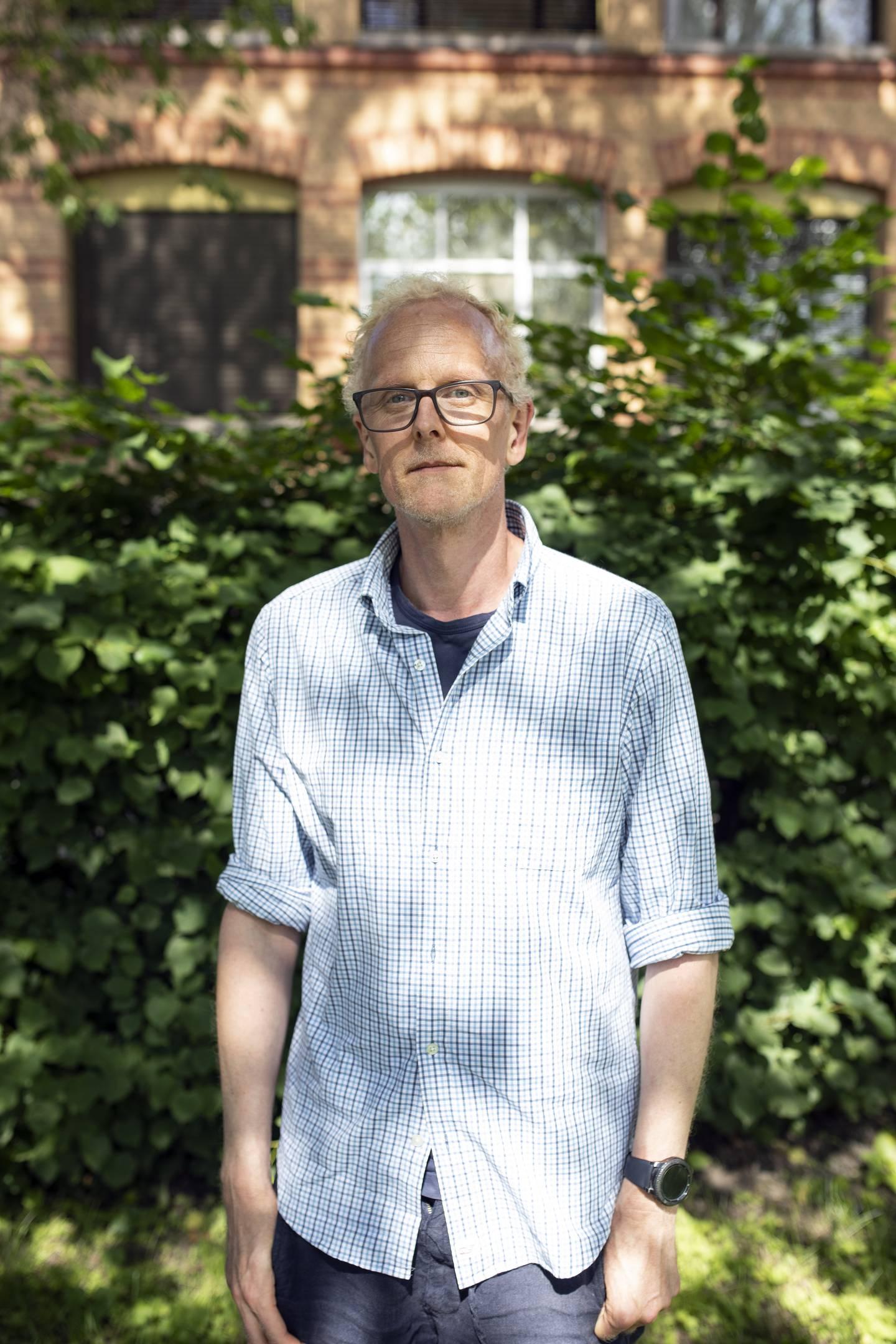 Jens Christian Holmberg. Seksjonsleder akutten Ullevål sykehus. Jobbet 22.juli 2011.  Intervjuet i forbindelse med 10 år siden 22.juli