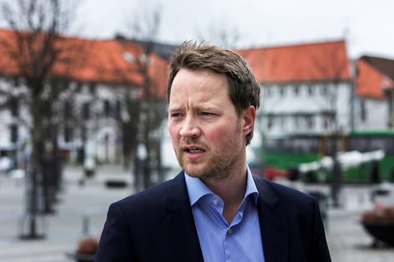 Daglig leder, Michael R. Myhre, i Eie Eiendomsmegling Stavanger. Foto: Roy Storvik