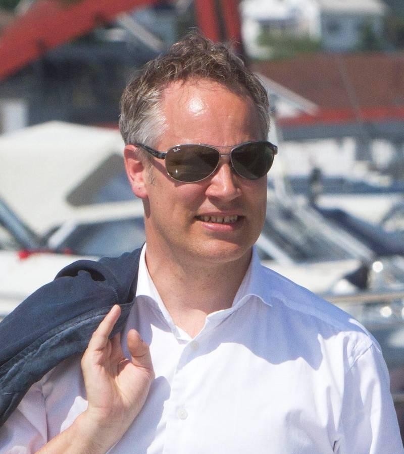 Ordfører Jon-Ivar Nygård (Ap) båtliv Fjeldberg