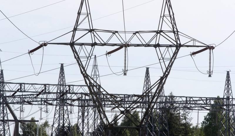 Oslo  20180520. Illustrasjonsbilde på strøm, høyspentmast, energi, energipriser, strømpriser, strømkabel. Foto: Terje Pedersen / NTB