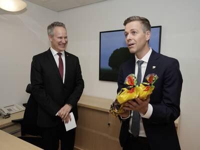 Samferdselsminister Nygård: Jeg har møtt meg selv i svingdøra