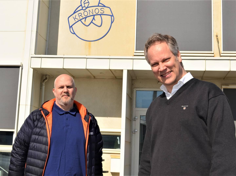 – Kapital og kompetanseheving er garantert veien videre for industrien, sier Fredrikstad-ordfører Jon-Ivar Nygård (Ap) og LO-leder Vidar Schei.