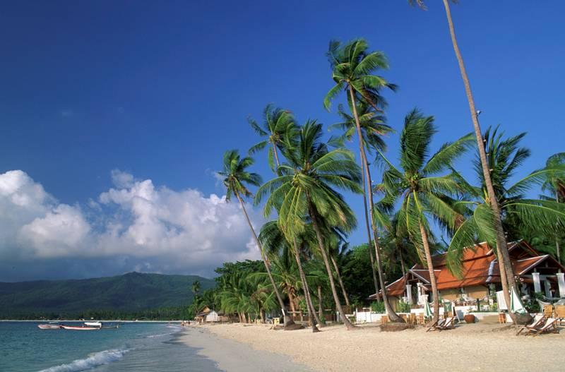 På Koh Samui er det fint vær også om sommeren, når det er litt mer ustabilt i andre områder i Thailand.
