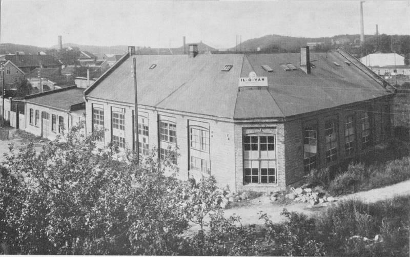 MIDT I SENTRUM: Så tidlig som i 1922 etablerte Il-O-Van seg midt i sentrum, der hvor Amfi kjøpesenter holder til i dag.