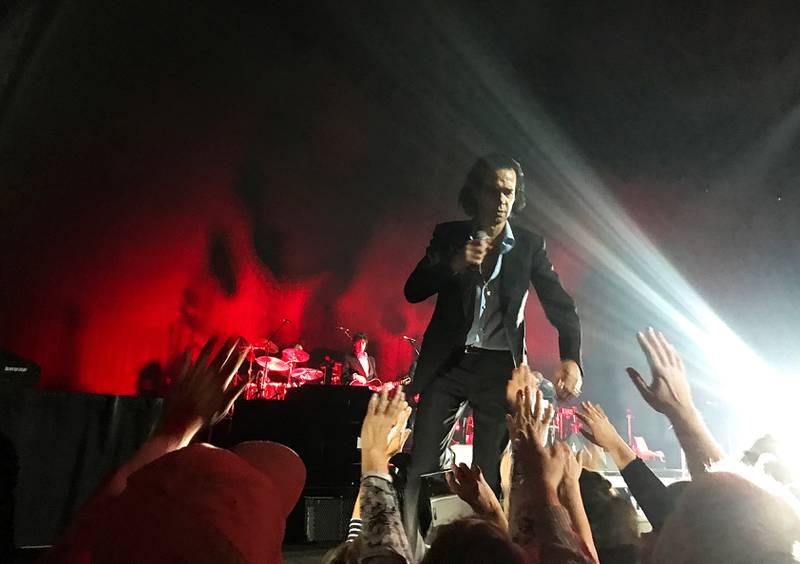 Det ble en uforglemmelig konsert med Nick Cave i Oslo.