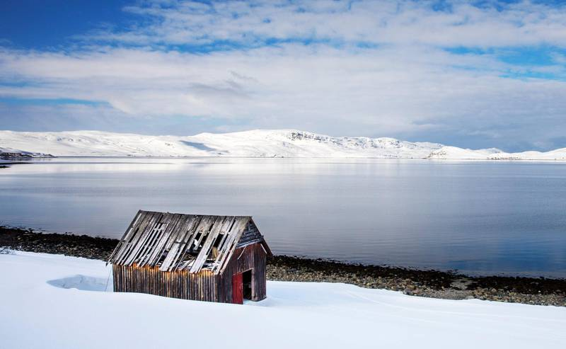 Selskapet Nussir ASA har fått driftskonsesjon for en kobbergruve ved Repparfjorden i Finnmark. Finmalte masser fra vil bli tømt i et sjødeponi her. Foto: Ole Berg-Rusten/NTB Scanpix