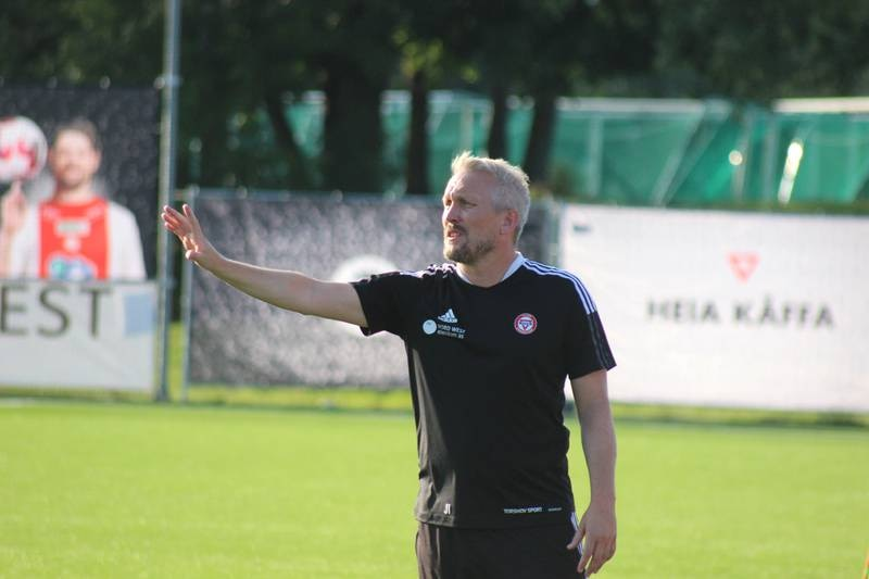 KFUM-trener Jørgen Isnes.