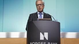 Norges Bank øker renta – dyrere boliglån i vente