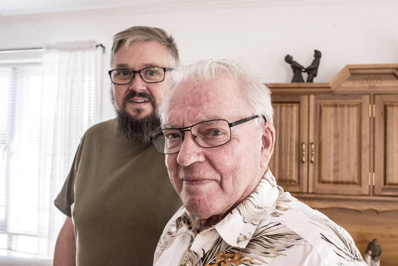 Med advokathjelp lyktes Hagder og sønnen Rune i juni 2021, etter to år med uro, å få avverget et kommende krav fra SPK.