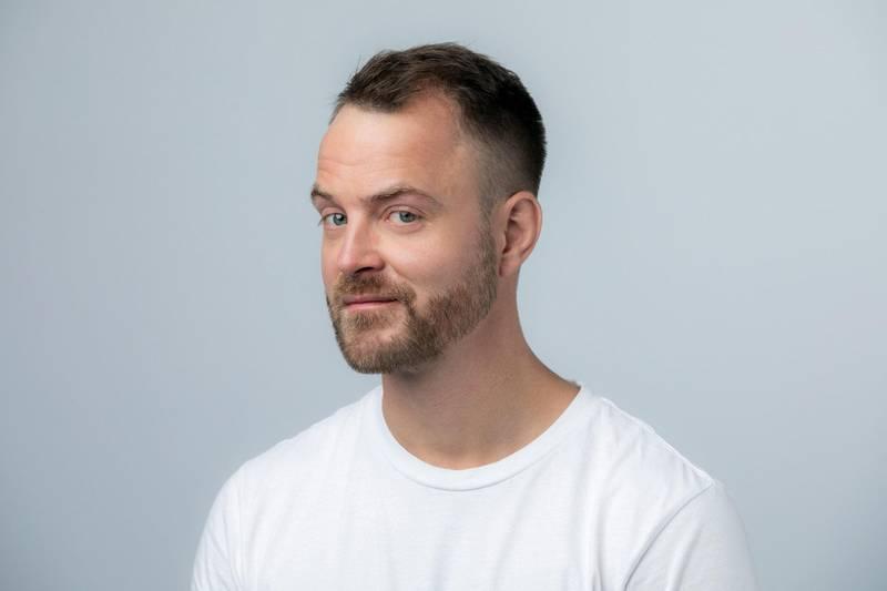 Satiriker Markus Gaupås Johansen