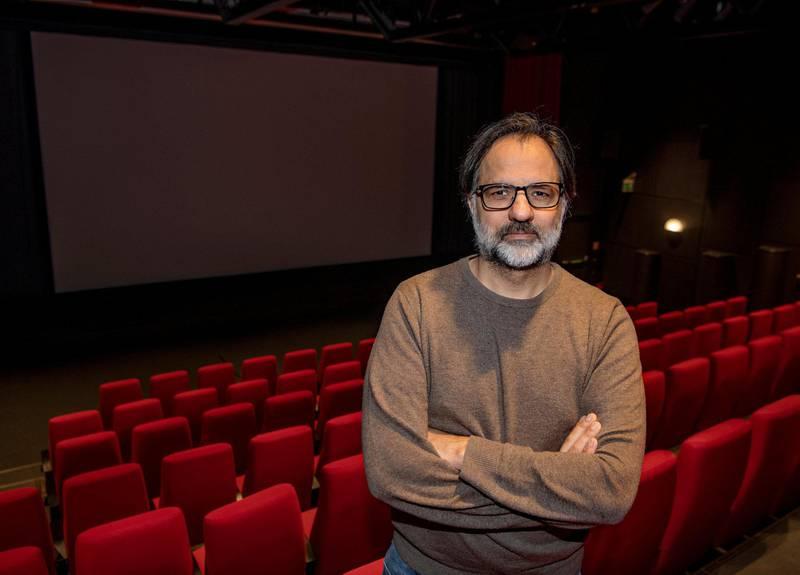 Filmskaper Ulrik Imtiaz Rolfsen. Foto: Mimsy Møller