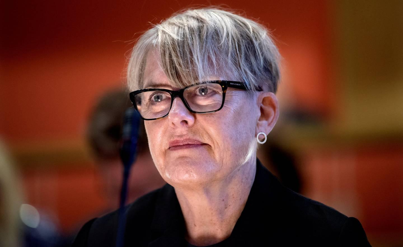 Situasjonen i Osloskolen ble i mai i år tatt opp i egen høring i Oslo rådhus. Her direktør Astrid Søgnen.