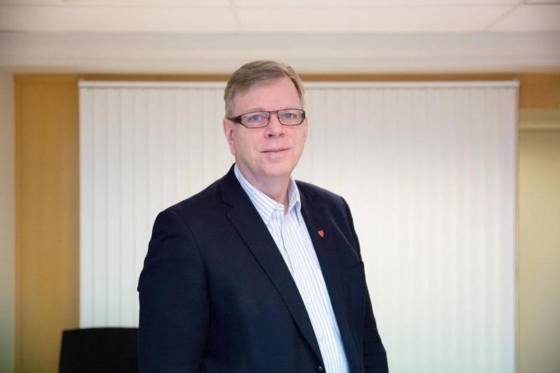 Kommunedirektør Hans Reidar Ness varsler harde kutt-tiltak i Moss kommune. Foto: Kenneth Stensrud