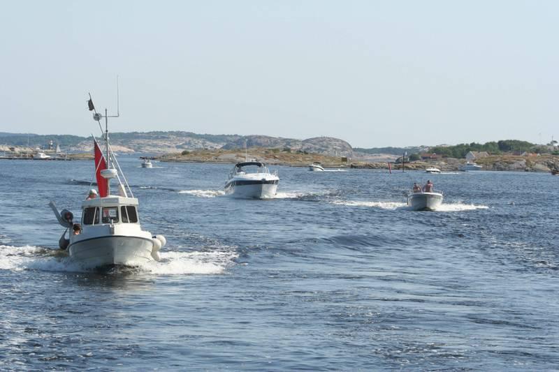 Båter på Hvaler