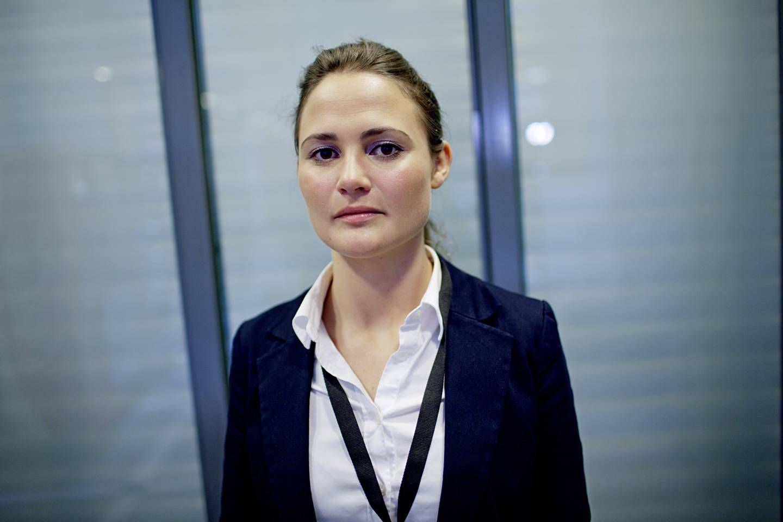 Bilde av Kari Nessa Nordtun, da hun var bistandsadvokat under terrorrettssaken mot Anders Behring Breivik i Oslo tingrett 2012.