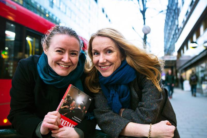 Anja Sletteland (t.v), førstelektor i retorikk ved Universitetet i Oslo, og Kristin Skare Orgeret, professor i journalistikk ved OsloMet står bak boka «Giskesaken».