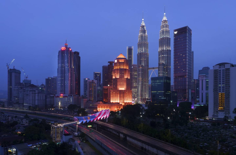 Her ser vi hovedstaden i Malaysia. Men hva heter den?