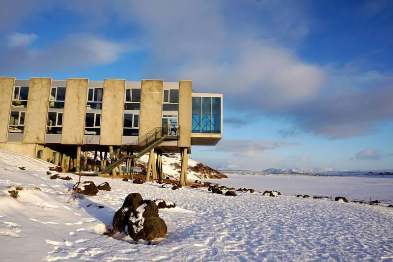 Flere reisende vil søke bort fra masseturismen, til hoteller og opplevelser som ligger i mer øde omgivelser. Som til ION Adventure Hotel på Island. FOTO: CHRISTINE BAGLO