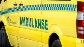 Arbeidsulykke: – Person har fått gressklipper over seg