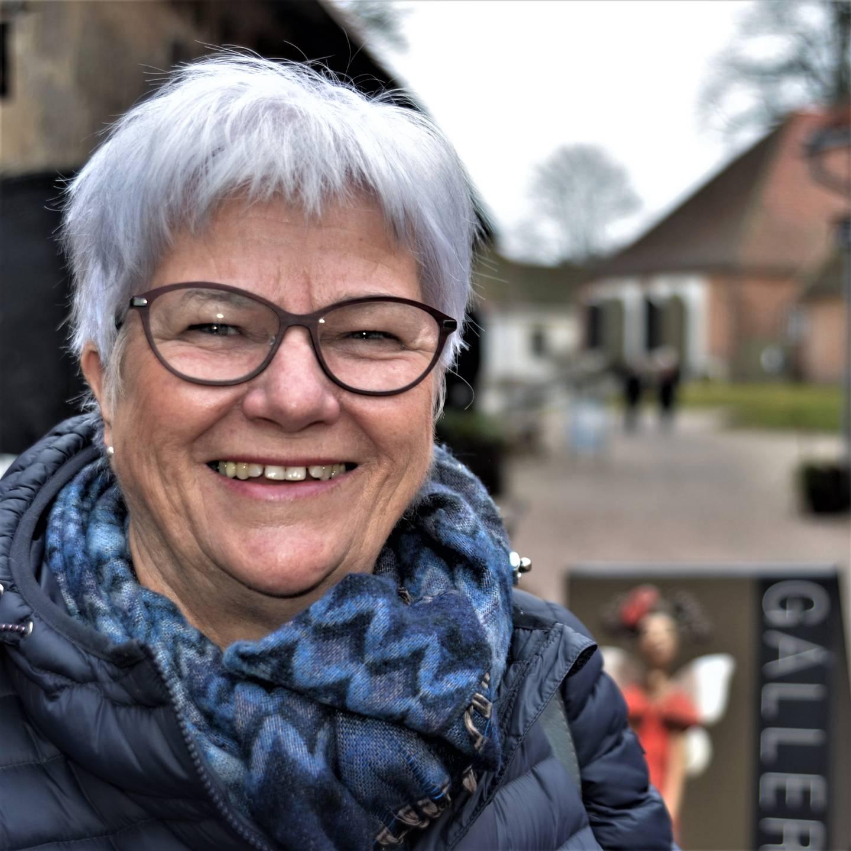 Greta Andersen, pårørende og leder i Fredrikstad Demensforening