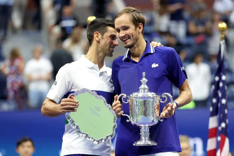 Novak Djokovic taklet ikke presset og ble slått i tre strake sett av Daniil Medvedev, som sikret seg sin første Grand Slam-tittel da han vant US Open-finalen søndag kveld.