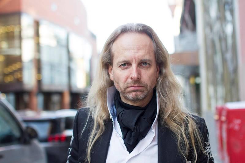 Kjell-Ole Haune jobbet sammen med Ari Behn om en serie korttekster like før Ari Behn døde. Foto: Amanda O. Iversen