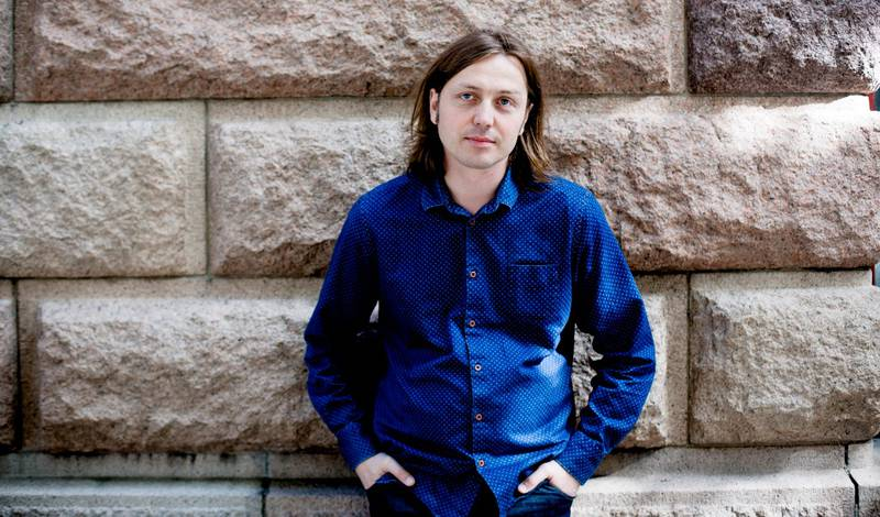 Nils-Øyvind Haagensen skriver sterkt og rørende om morens kreftsykdom og død. FOTO: FREDRIK BJERKNES