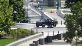Mannen som truet med bombe ved Kongressen, har overgitt seg