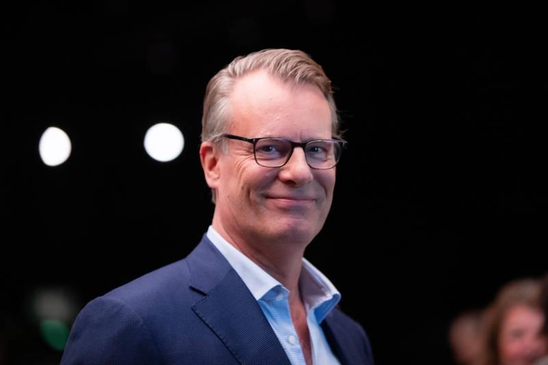 OSLO, NORGE 20200108.  Johan H. Andresen, styreleder og eier av Ferd,  under NHOs årskonferanse i Oslo Spektrum. Foto: Berit Roald / NTB scanpix