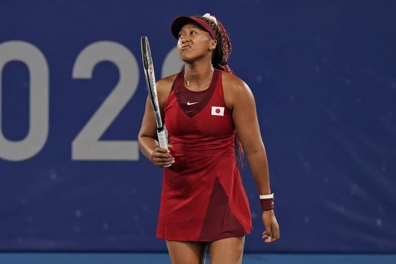 Naomi Osaka er ute av OL. Foto: Seth Wenig / AP / NTB