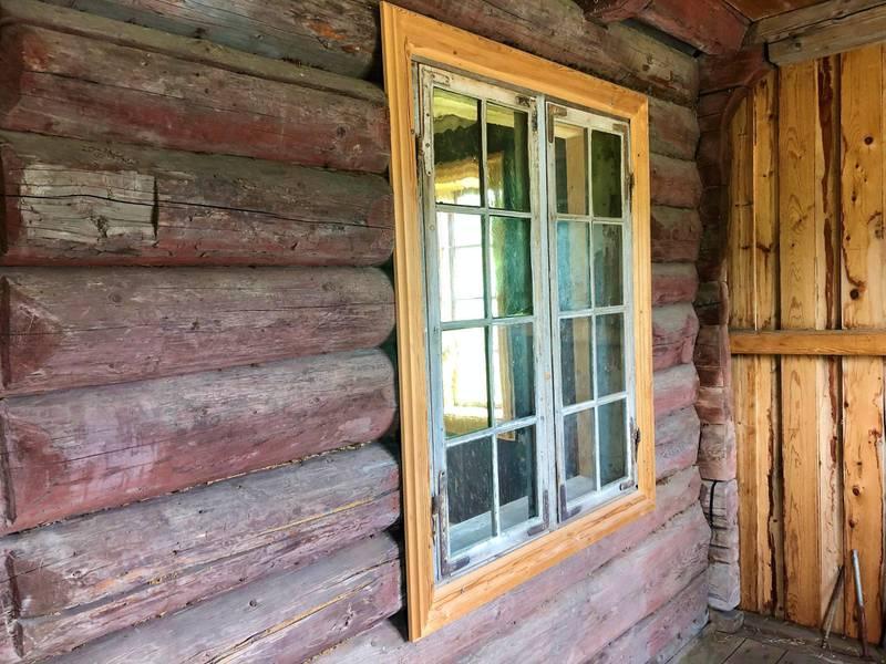 Dette tømmeret er over 300 år gammelt.