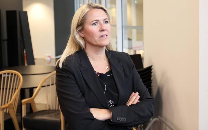 Aps Monica Myrvold Berg. FOTO: PÅL KARSTENSEN