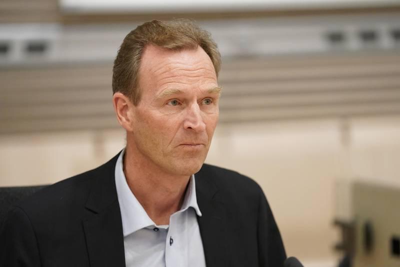 Tidligere generalsekretær i Norges Skiforbund, Stein Opsal. Foto: Cornelius Poppe / NTB