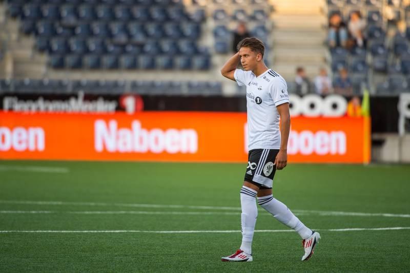 Adrian Pereira mister trolig resten av sesongen etter å ha pådratt seg en skulderskade på trening med Rosenborg. Foto: Carina Johansen / NTB