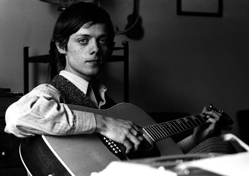 En 18 år gammel Lillebjørn Nilsen under innspillingen av filmen «Himmel og helvete» i 1969. Han tok fort avstand fra filmen.