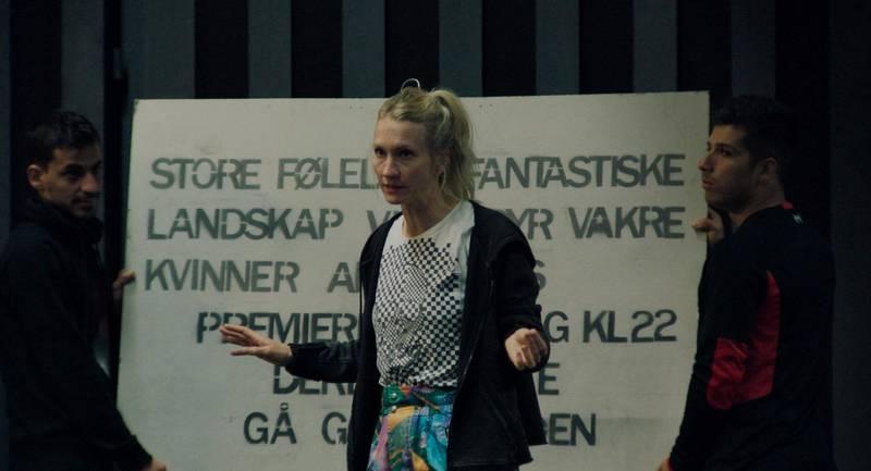 Birgitte Larsen som Gritt i «Gritt». Foto: Mer Film