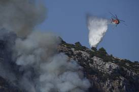 Tusener evakueres fra skogbranner i Hellas